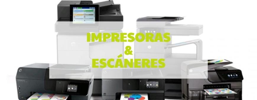 Impresoras y escáneres - Informática Logos