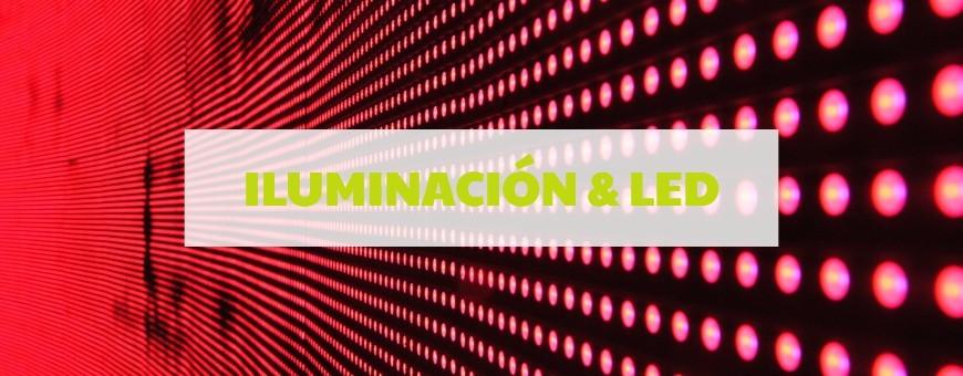 Iluminación y LED - Informática Logos