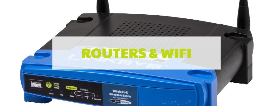 Routers y WiFi - Informática Logos
